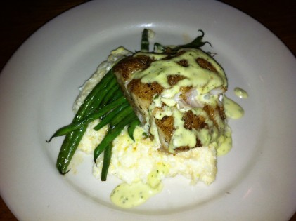 Restaurant review high thyme on sullivan s island the for Fish thyme menu
