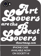 Art Lovers iPhone case ad