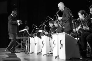 Robert Lewis on alto sax