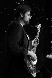 Jeremy Wolf on bass