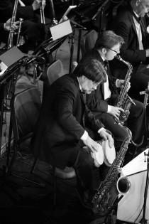 Mark Sterbank on bongos