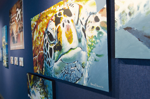 ©South Carolina Aquarium Paintings for a Purpose (11)