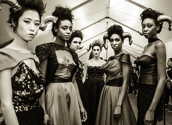ModelsBackstageforEmergingDesignerAmandaDreesenShow_Brianna Stello, Stello Photography