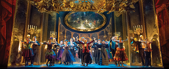 THE PHANTOM OF THE OPERA 3 - The Company performs Masquerade - photo by Alastair Muir-WEB