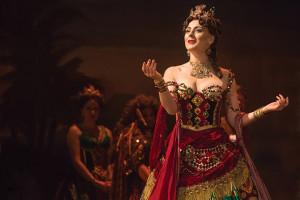 THE PHANTOM OF THE OPERA 9 - Jacquelynne Fontaine as Carlotta - photo Matthew Murphy-WEB