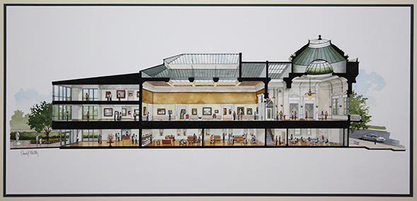 10. Gibbes Museum Rendering