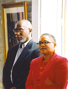 Jack McCray and Dr. Karen Chandler