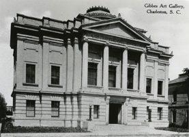 Gibbes Memorial Art Gallery in Charleston, SC