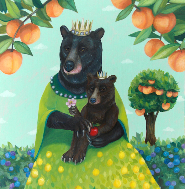 """Mother and Child Fruit"" by Lisa Shimko"