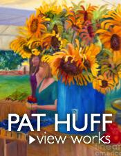 Pat Huff Homepage Vertical Sunflowers