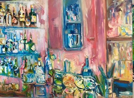 """""""Zero George"""" 24""""x18"""" Oil on Canvas"""